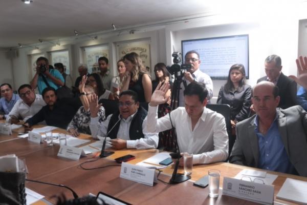 Aprueban en Comisiones Unidas Dictamen para expedir la ley de Mejora Regulatoria del Estado de Puebla