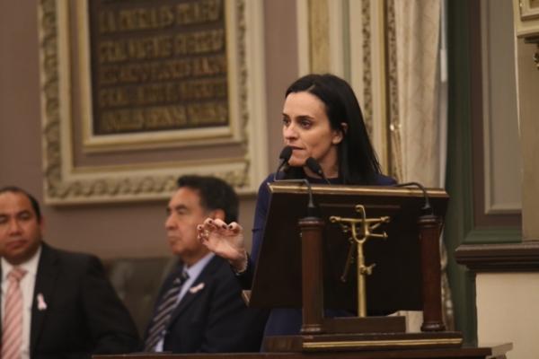 Grupos legislativos de Morena, PT y PES, ratifican su apoyo a Espinosa Torres; PAN pide su salida de la Comisión Inspectora