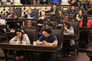 Por unanimidad, la LX Legislatura aprueba la Ley de Egresos del Estado para el Ejercicio Fiscal 2019