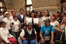 Personas con discapacidad solicitan al Congreso el desarrollo de leyes para protección de sus derechos.