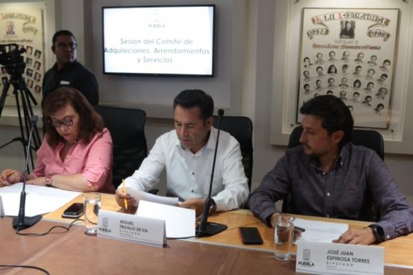 Congreso del Estado declara desierta la licitación del servicio de custodia y vigilancia de inmuebles del Poder Legislativo