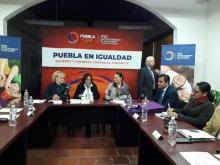Integrantes de la Comisión de Igualdad sostienen reunión de trabajo con el IPM