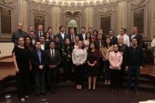 La LX Legislatura recibe la visita del Excelentísimo Embajador Extraordinario y Plenipotenciario de la Federación de Rusia en México, Víctor V. Coronelli