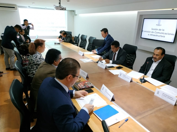 Comisión de Comunicaciones e Infraestructura trabajará en análisis de tabuladores de precios para evitar sobrecostos en obra pública