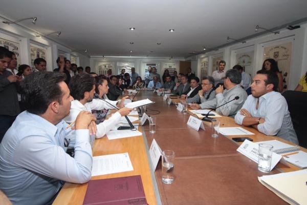 Comisión Inspectora aprobó enviar a revisión la cuenta pública del Ejecutivo del Estado ejercicio fiscal 2018